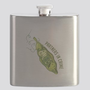 Partners In Crime Flask