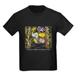 Endangered wildflowers of Monter Kids Dark T-Shirt