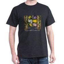 Endangered wildflowers of Monterey Co Dark T-Shirt