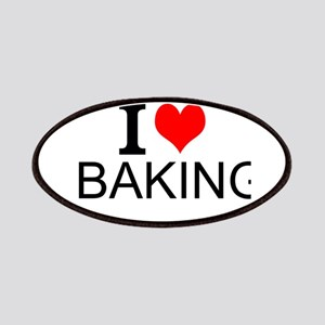 I Love Baking Patches