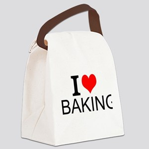 I Love Baking Canvas Lunch Bag