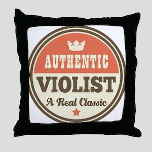 violist viola Throw Pillow