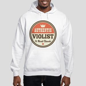 violist viola Hooded Sweatshirt