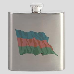 Namibia Flag Flask