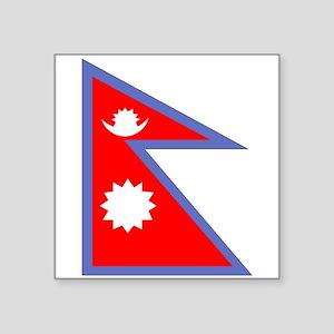 Nepal Flag Sticker