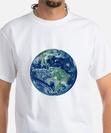 Earth White T-Shirt