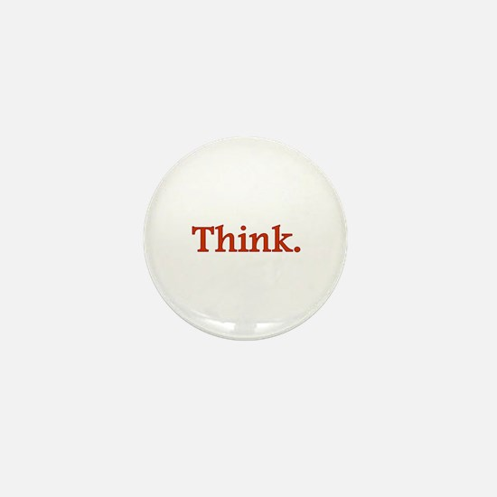 Think Mini Button