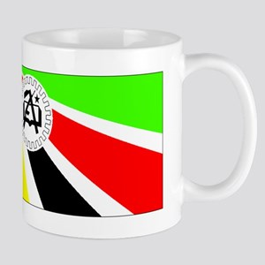 Old Mozambique Flag Mugs
