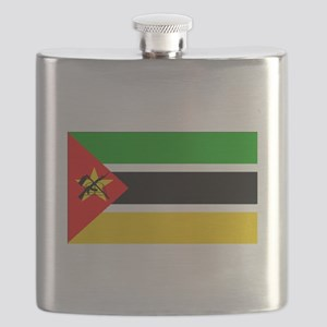 Mozambique Flag Flask
