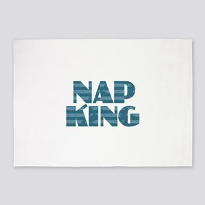 Nap King - Blue 5'x7'Area Rug