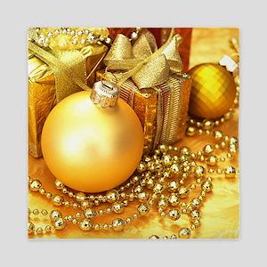 Christmas Ornament Queen Duvet