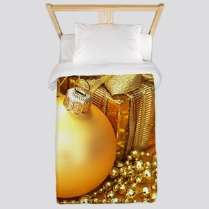 Christmas Ornament Twin Duvet