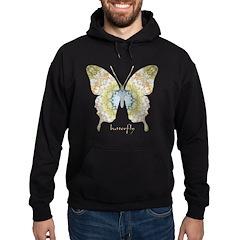 Haven Pastel Butterfly Hoodie (dark)