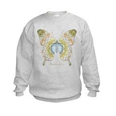 Haven Pastel Butterfly Sweatshirt