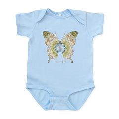 Haven Pastel Butterfly Infant Bodysuit