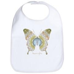 Haven Pastel Butterfly Bib