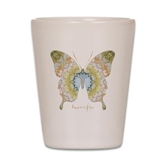 Haven Pastel Butterfly Shot Glass