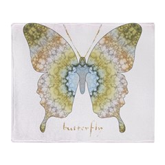 Haven Pastel Butterfly Throw Blanket