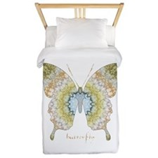 Haven Pastel Butterfly Twin Duvet