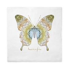 Haven Pastel Butterfly Queen Duvet