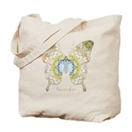 Haven Pastel Butterfly Tote Bag