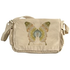 Haven Pastel Butterfly Messenger Bag