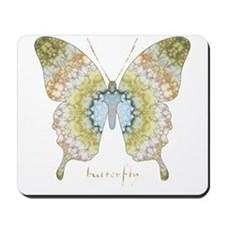 Haven Pastel Butterfly Mousepad