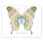 Haven Pastel Butterfly Small Poster