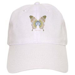Haven Pastel Butterfly Baseball Cap