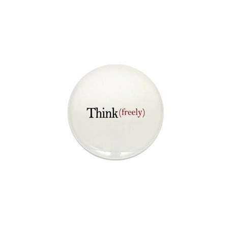 Think freely Mini Button