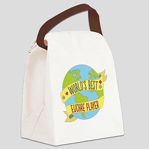 World's Best Euchre Player Canvas Lunch Bag