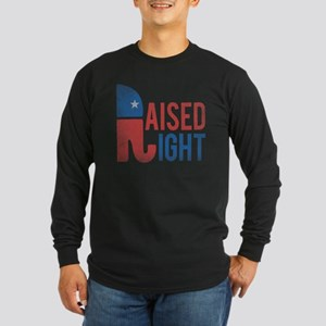 Raised Right Vintage Long Sleeve Dark T-Shirt