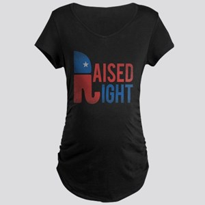 Raised Right Vintage Maternity Dark T-Shirt