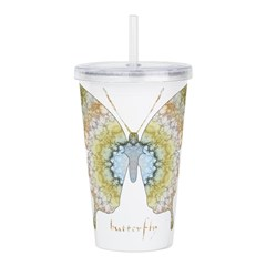 Haven Butterfly Acrylic Double-wall Tumbler