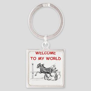 harness racing Keychains
