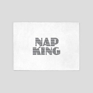 Nap King - Gray 5'x7'Area Rug