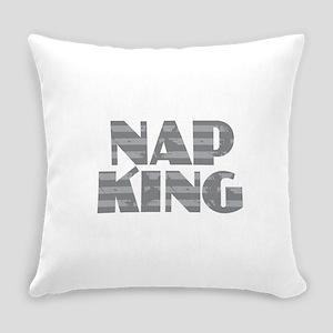Nap King - Gray Everyday Pillow