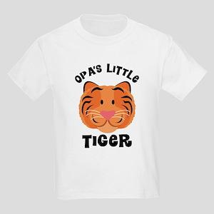 Opa's Little Tiger Kids Light T-Shirt