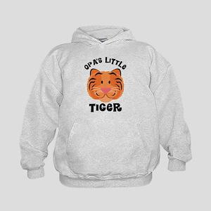 Opa's Little Tiger Kids Hoodie