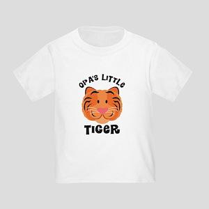 Opa's Little Tiger Toddler T-Shirt