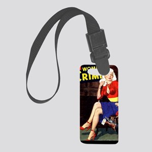 WomenInCrime Cover 5G Small Luggage Tag