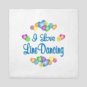 I Love Line Dancing Queen Duvet