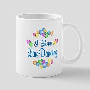 I Love Line Dancing Mug