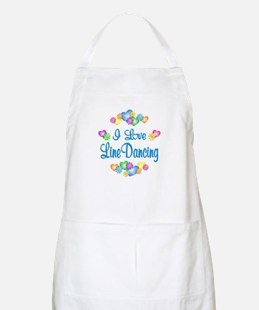 I Love Line Dancing Apron
