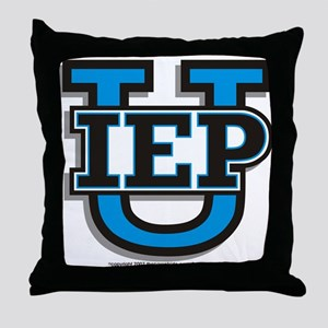 IEP U Throw Pillow