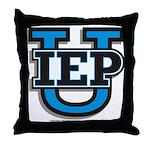IEP U Throw Pillow