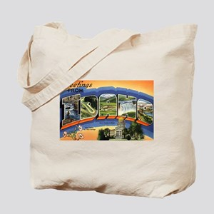 Greetings from Idaho Tote Bag