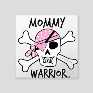 Mommy Warrior Crossbones Sticker