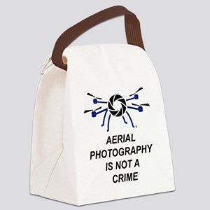 No Crime Canvas Lunch Bag
