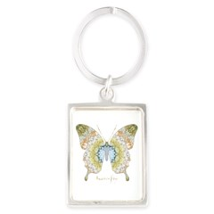 Haven Butterfly Keychains